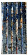 Grill Abstract Beach Towel