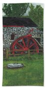 Grist Mill At Wayside Inn Beach Towel