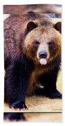 Grizzly Bear 2 Beach Towel