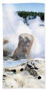 Grotto Geyser Yellowstone Np Beach Towel