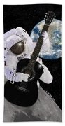 Ground Control To Major Tom Beach Towel by Nikki Marie Smith