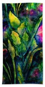 Growing Together In Love Beach Towel