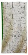 Grunge Ireland Flag Beach Towel