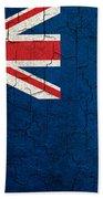 Grunge New Zealand Flag Beach Towel