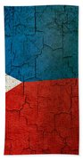 Grunge Philippines Flag Beach Towel