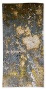 Grungy Cement Wall Beach Towel