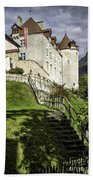 Gruyeres Castle Beach Towel