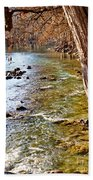 Guadalupe River View Beach Towel