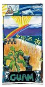 Guam Beach Towel