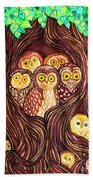 Guardians Of The Forest Beach Towel