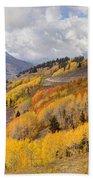 Guardsman Pass Aspen - Big Cottonwood Canyon - Utah Beach Towel