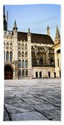 Guildhall Building And Art Gallery Beach Towel
