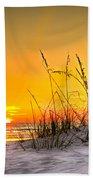 Gulf Sunset Beach Towel