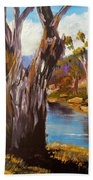 Gum Trees Of The Snowy River Beach Towel