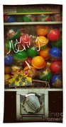 Series - Gumball Silver Bars With Graffiti - Iconic New York City Beach Towel