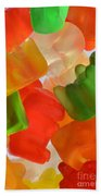 Gummy Bears Beach Towel