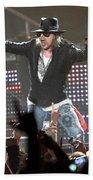 Guns N' Roses Beach Towel
