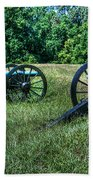 Guns Of Vicksburg Beach Towel