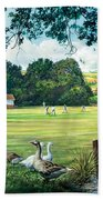 Hadlow Cricket Club Beach Towel