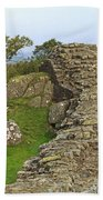 Hadrian's Wall Near Walltown Quarry Beach Towel