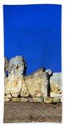 Hagar Qim Stone Temple, Malta Beach Towel