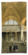 Haghia Sophia, Plate 9 The New Imperial Beach Towel by Gaspard Fossati