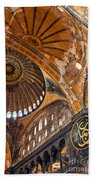 Hagia Sofia Interior 01 Beach Towel