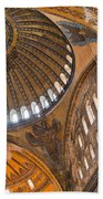 Hagia Sofia Interior 04 Beach Towel