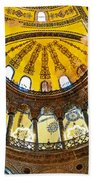 Hagia Sofia Interior 07 Beach Towel