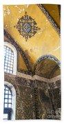 Hagia Sofia Interior 14 Beach Towel