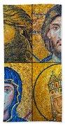 Hagia Sofia Mosaics Beach Towel