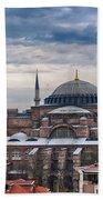 Hagia Sophia 19 Beach Towel