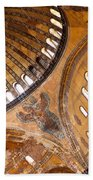 Hagia Sophia Dome 01 Beach Towel