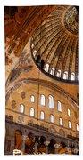 Hagia Sophia Dome 03 Beach Towel