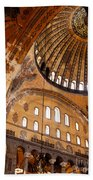 Hagia Sophia Dome 03 Beach Towel