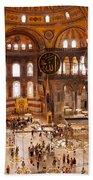 Hagia Sophia Interior 04 Beach Towel