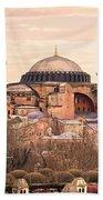 Hagia Sophia Mosque - Istanbul Beach Sheet