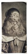 Hairy Maid, 17th Century Beach Towel