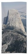 Half Dome Glacier Point Beach Towel