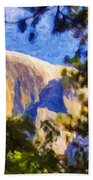 Half Dome Opus I Beach Towel