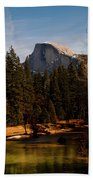 Half Dome Spring Beach Towel by Bill Gallagher