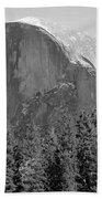 Half Dome Yosemite Beach Towel by Heidi Smith