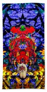 Hall Of The Color King Beach Towel