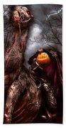 Halloween - The Headless Horseman Beach Towel