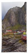Hamnoy Rorbu Village Beach Towel
