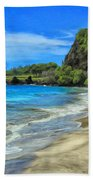 Hamoa Beach At Hana Maui Beach Towel