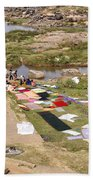 Hampi Bathing Ghats Beach Towel
