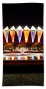 Hampton Coliseum Christmas Beach Towel