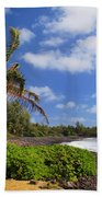 Hana Beach Beach Towel