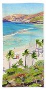 Hanauma Bay - Oahu Beach Towel
